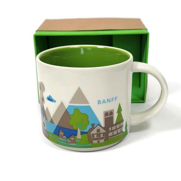 Starbucks You Are Here Collection Banff Mug